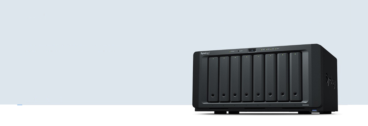 Synology 8 bay NAS DiskStation DS1819+ (Diskless) - Newegg com