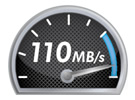 The icon for fast speed
