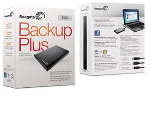 Seagate backup plus slim 1tb external portable drive unboxing.