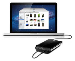 Slim Portable Drive for Mac