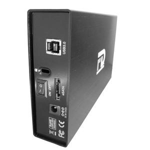G-Force USB 3.0 / eSATA Aluminum External Hard Drive