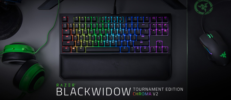 316269e7051 Razer BlackWidow Tournament Edition Chroma V2 - RGB Ergonomic ...