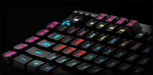 Left-Side Keys of the Logitech G910 Orion Spark RGB Keyboard