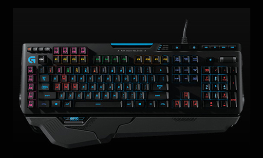Certified Refurbished 920-006385 Logitech G910 Orion Spark RGB Mechanical  Gaming Keyboard - 9 Programmable Buttons, Dedicated Media Controls D-stock  -