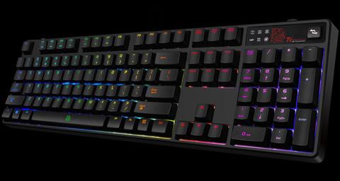 301f482f2f8 Tt eSPORTS KB-PZR-KBBRUS-01 POSEIDON Z RGB Gaming Keyboard - Brown ...