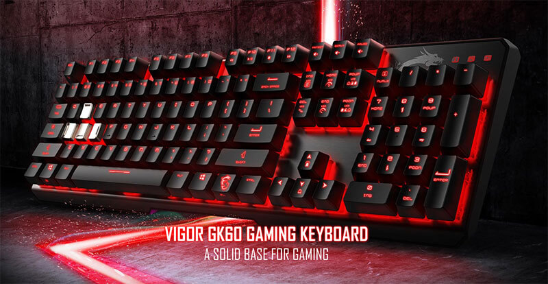 Vigor GK60 Gaming Keyboard