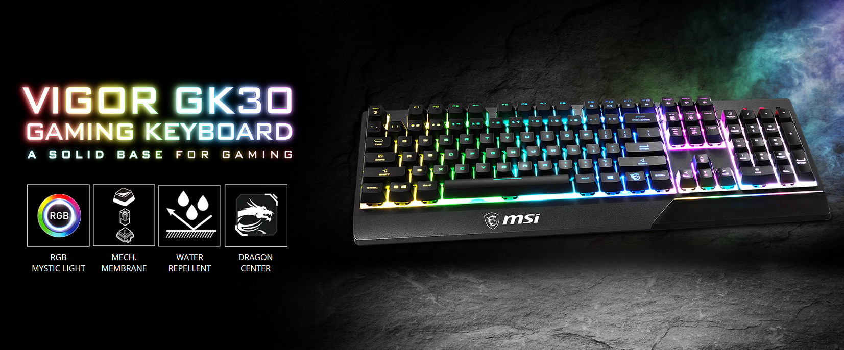 MSI Gaming Keyboard-Vigor GK30
