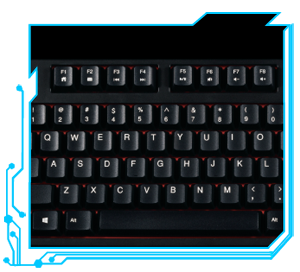 55d9ae8cc9c Rosewill Mechanical Gaming Keyboard with Cherry MX Brown Switches ...