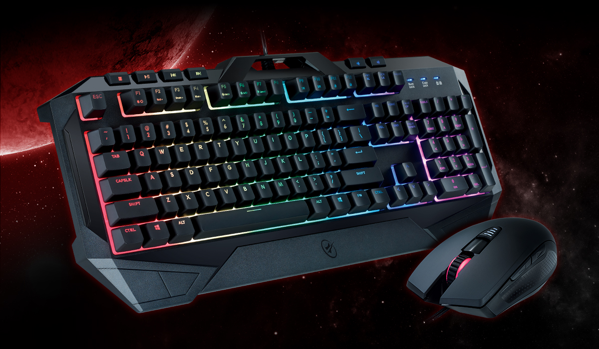 FUSION C40 Gaming Keyboard and Mouse Combo with RGB LED ...