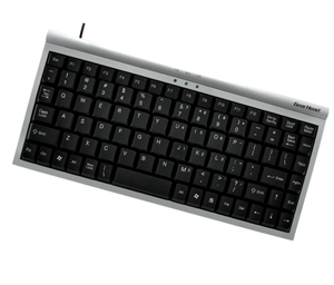 GEAR HEAD Mini USB 89-Key Keyboard