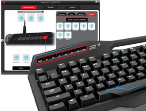 Mad Catz® S.T.R.I.K.E. TE™ Mechanical Gaming Keyboard for PC