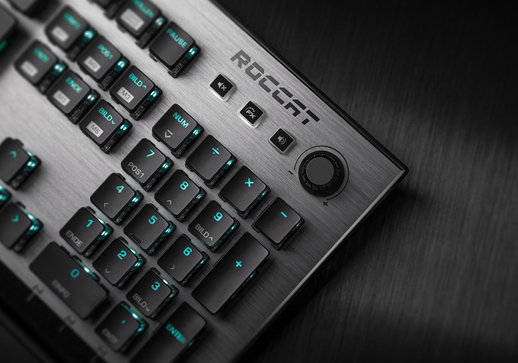 Roccat gaming keyboards