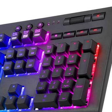 60edeb86c86 Thermaltake TT Premium X1 RGB Cherry MX Blue Keyboard - Newegg.com