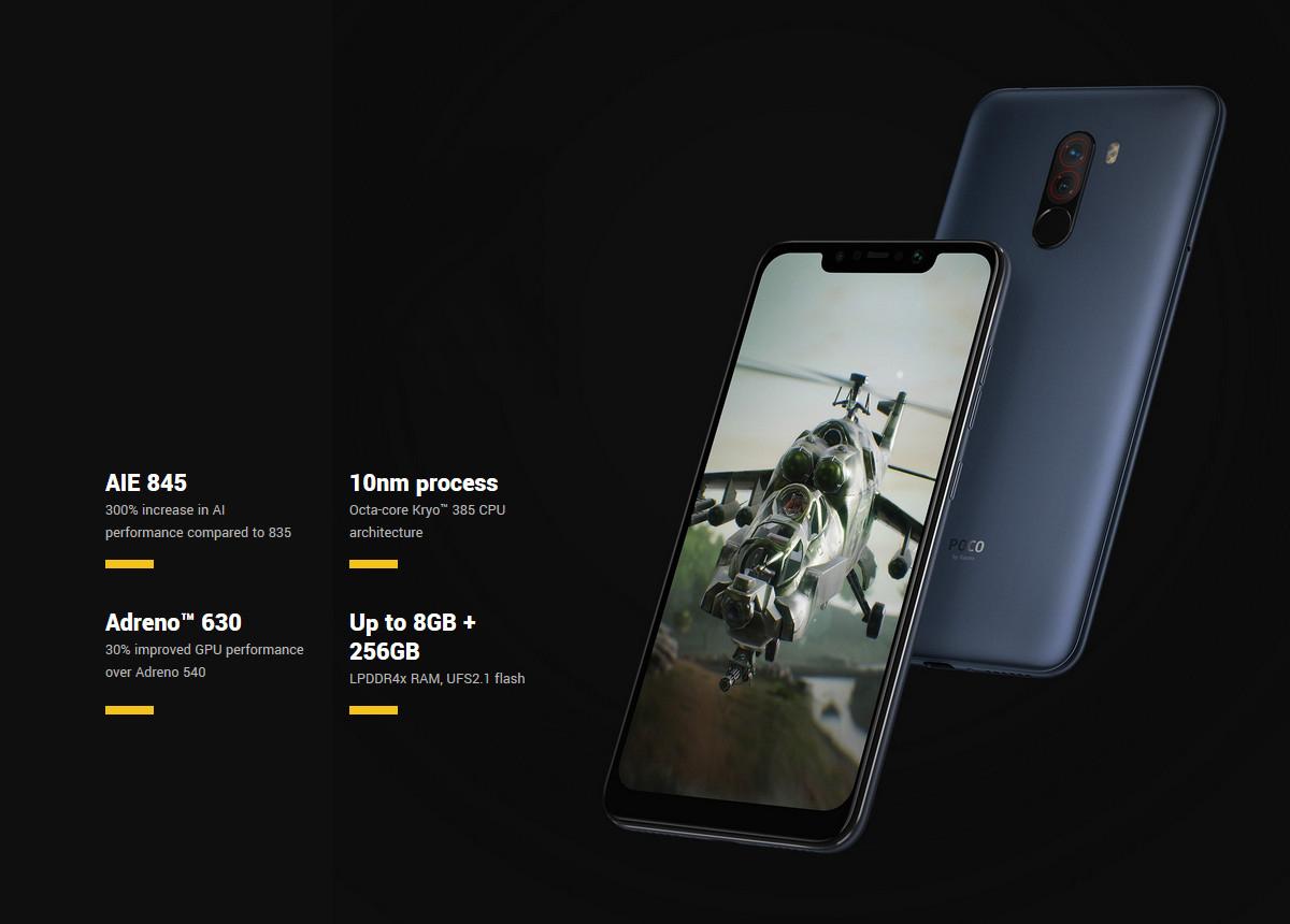 Xiaomi POCO F1 6GB+64GB Global Official Version IR Face Unlock & Back  Fingerprint Identification LiquidCool Technology - Newegg com