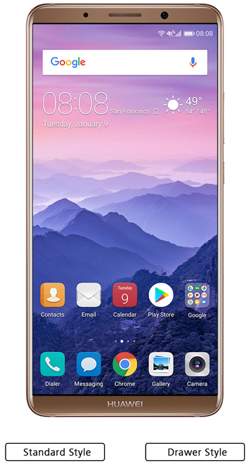 Huawei Mate 10 Pro Unlocked Smartphone with Dual Camera (6