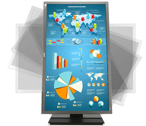 Acer B6 Series 23.6inch HDMI Widescreen LED Backlight LCD Monitor