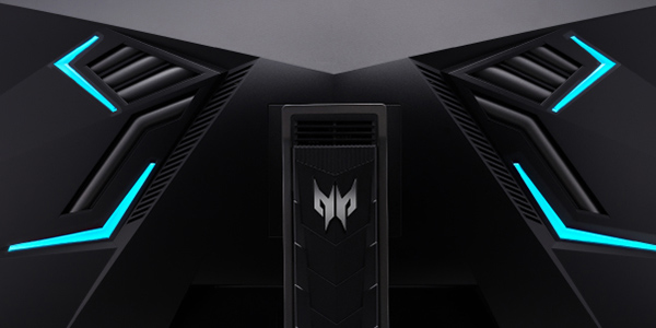 Back of the Acer Predator X35 Monitor