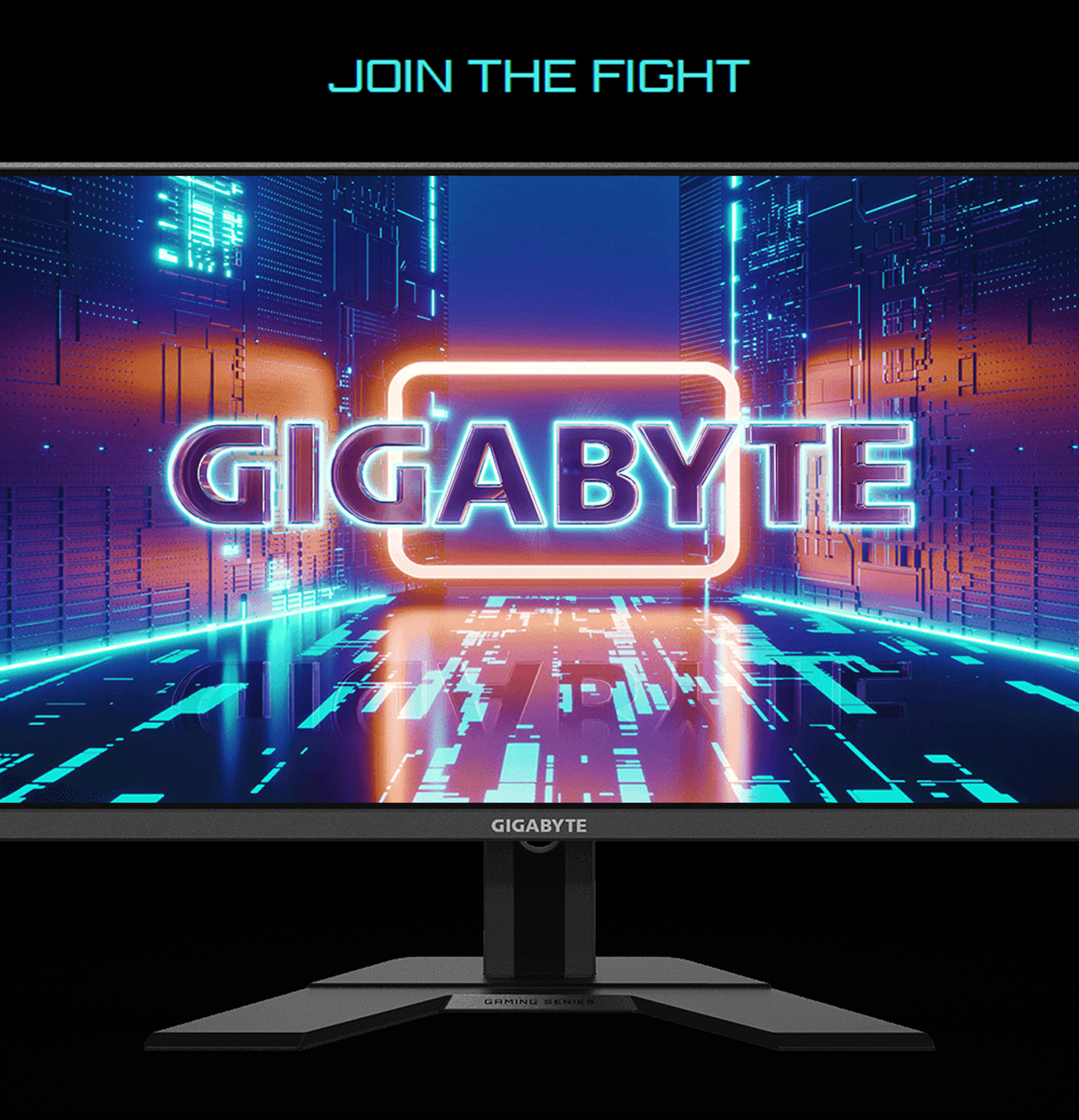 GIGABYTE G27Q-SA IPS Gaming Monitor facing forward