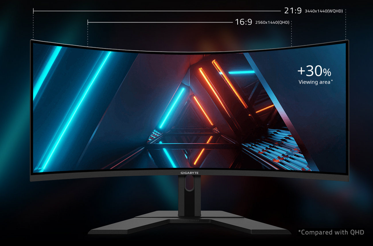 GIGABYTE G34WQC Gaming Monitor