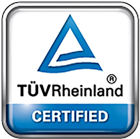 TÜV Rheinland Certification icon