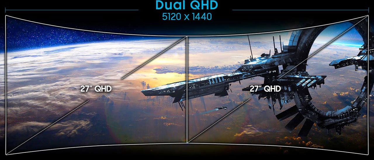 1_Dual QHD Display