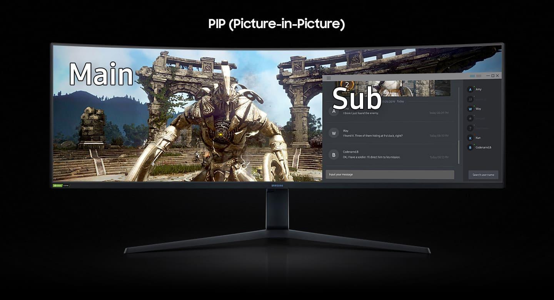 SAMSUNG Odyssey G9 Series Gaming Monitor