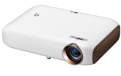 1500 Lumen Minibeam LED Projector With Screen Share and Bluetooth Sound Out