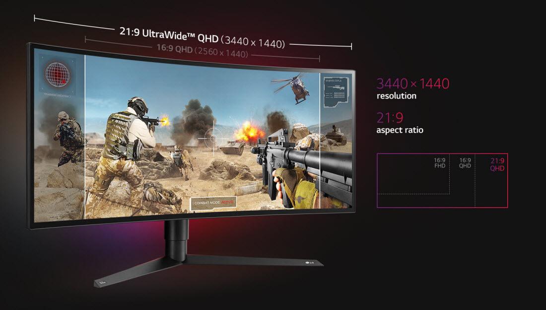 LG UltraGear 34GK950F-B Black 34