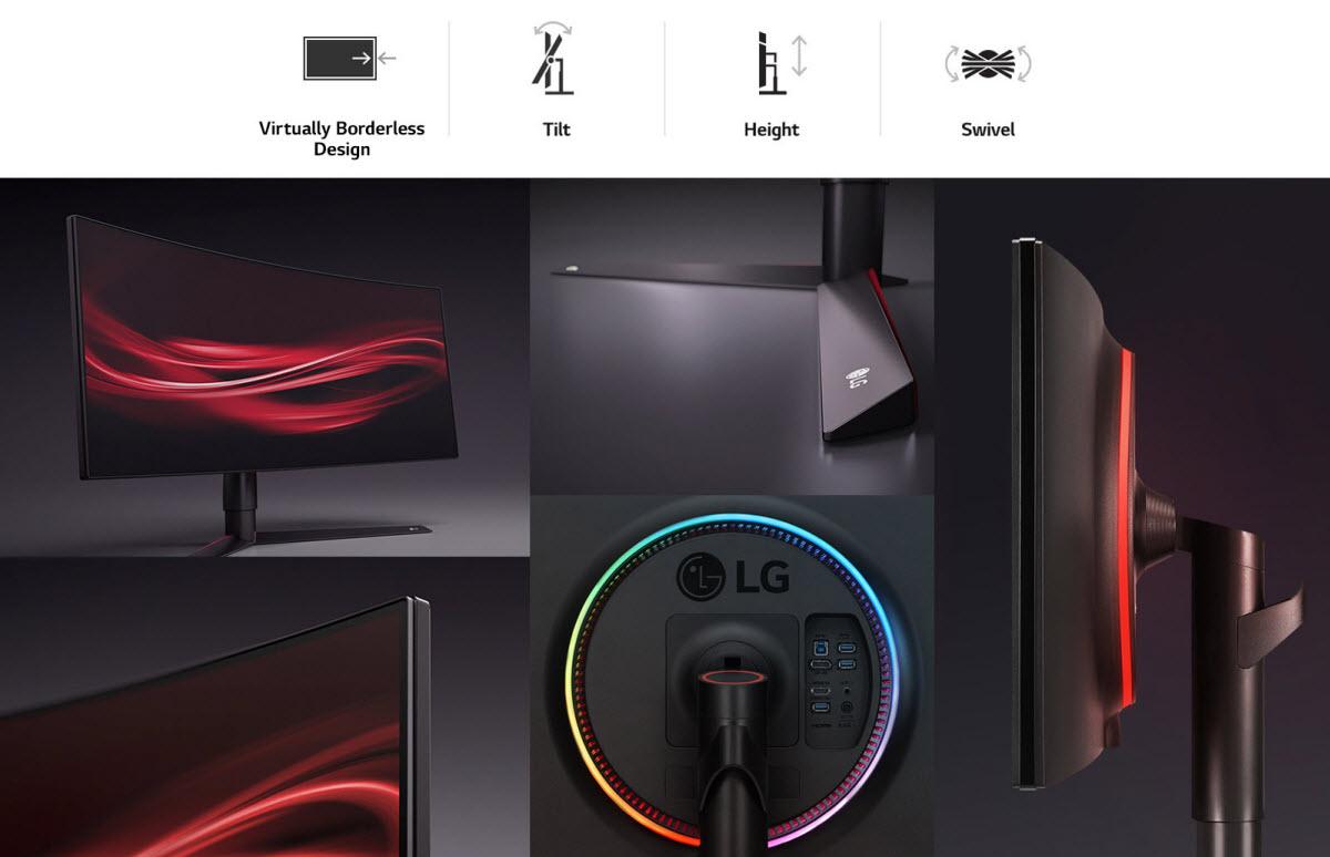 LG UltraGear 34GK950G-B Black 34