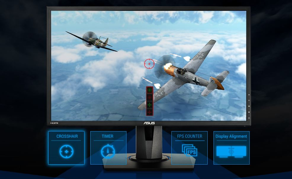 ASUS-exclusive GamePlus technology