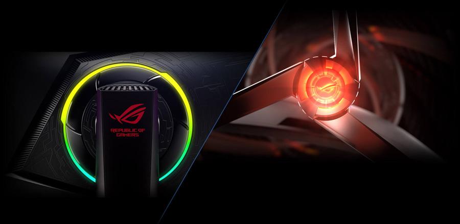 ROG Strix XG258Q Gaming Monitor – 25 inch (24.5 inch viewable) FHD (1920x1080), Native 240Hz, 1ms, Adaptive-Sync(FreeSync™), Asus Aura RGB