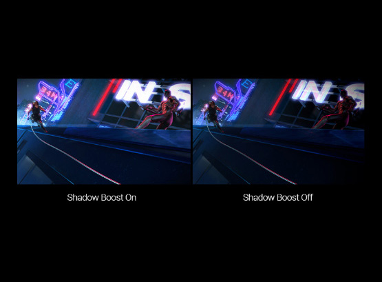 exclusive_pic_05, two images to show the different between shadow boost on and off
