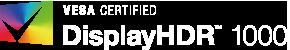 displayHDR 1000 logo