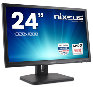 Nixeus Vue 24inch  with AMD FreeSync Technology