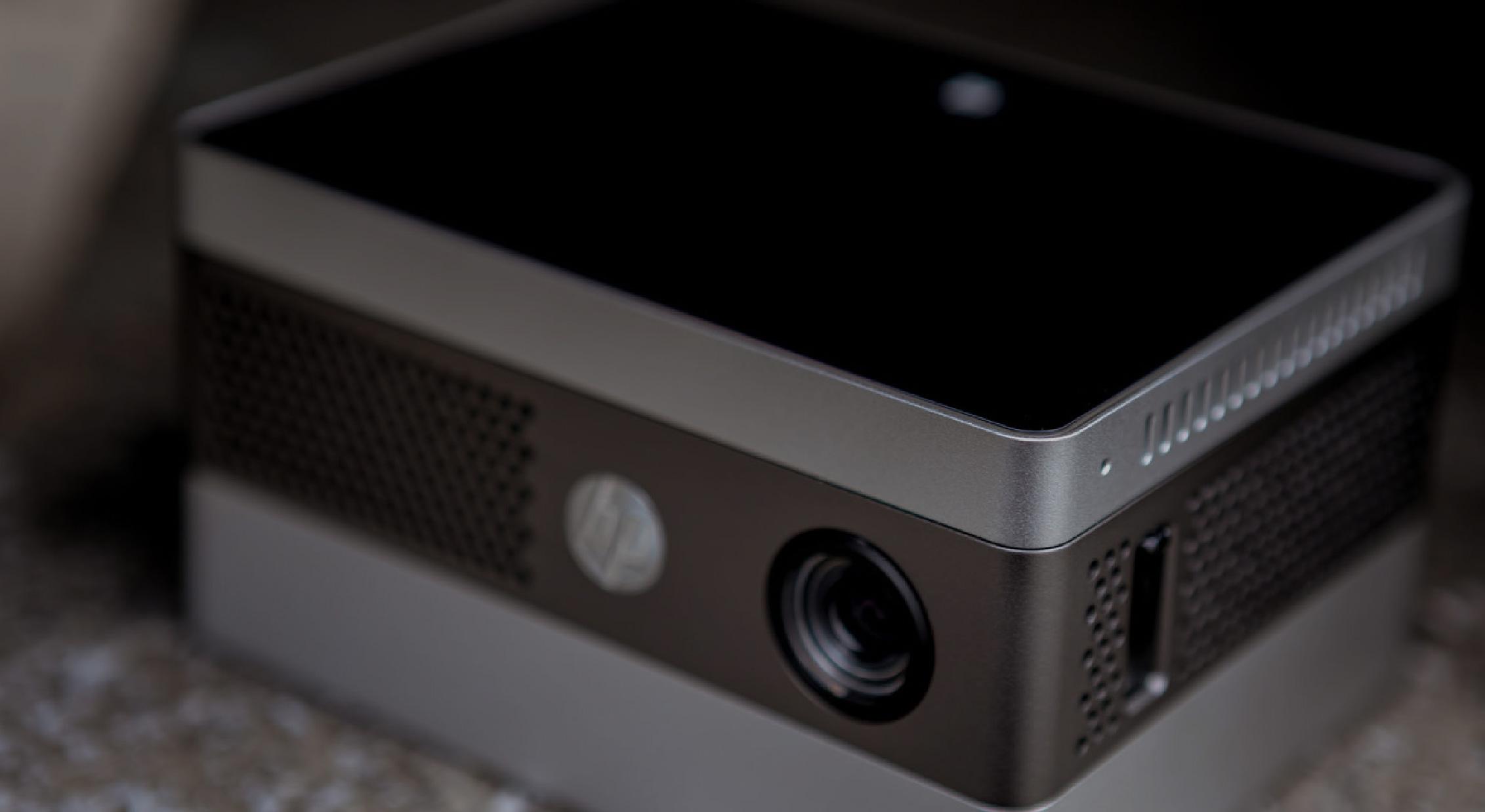 HP IP400投影儀向左傾斜
