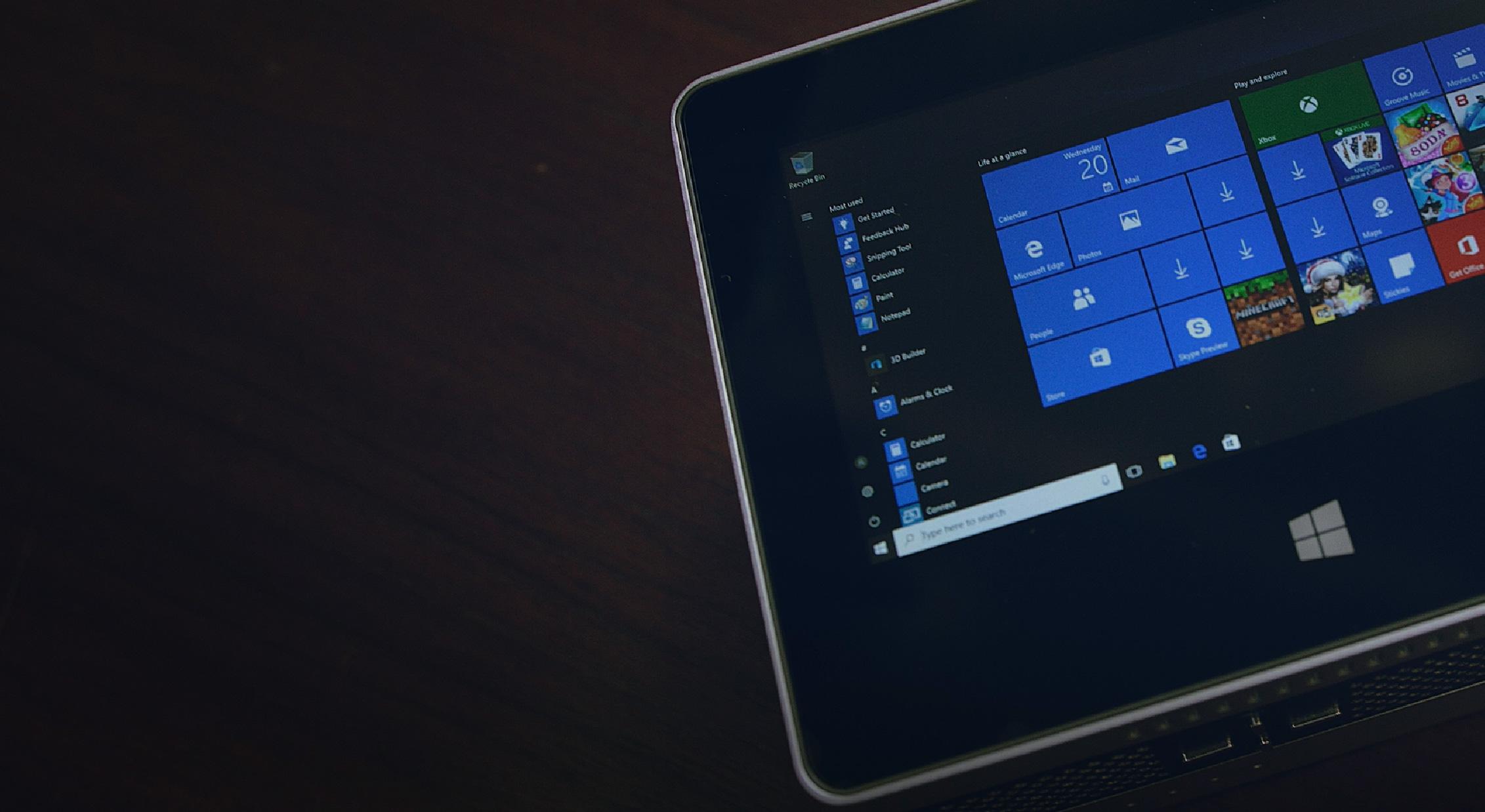 Windows 10平板電腦