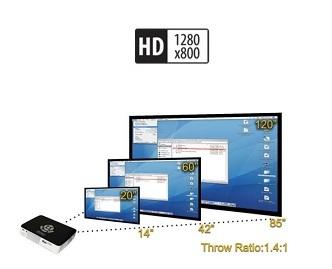 throw p300 pico projector