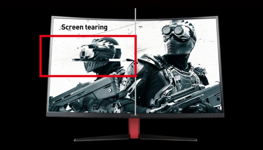 MSI Optix AG32C Full HD Red LED Non-Glare Super Narrow Bezel 1ms Response  Full HD 1920 x 1080 165Hz Refresh Rate FreeSync Technology 32
