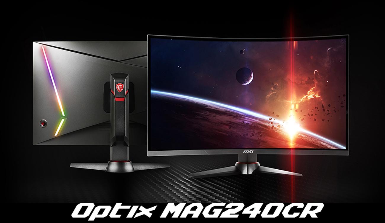MSI MAG240CR Gaming Monitor