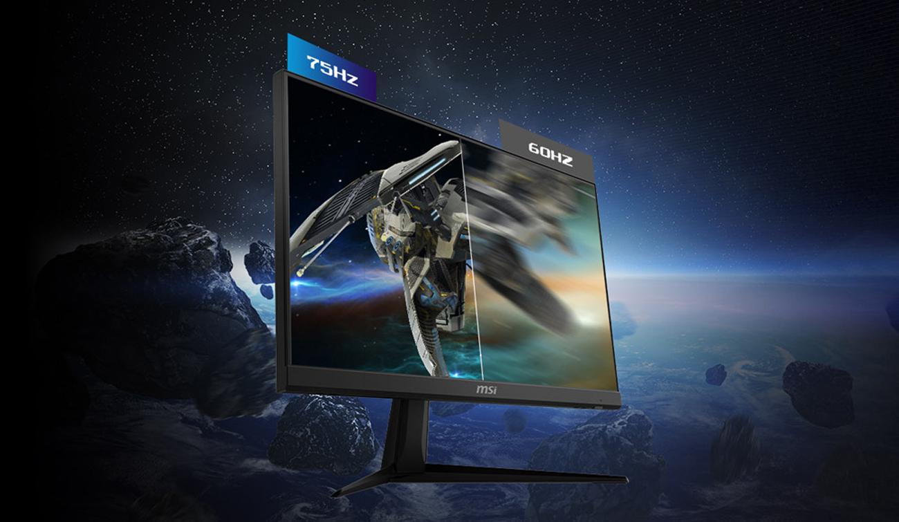 "MSI Optix G241V 24"" Full HD 1920 x 1080 1ms (MPRT) 75Hz HDMI, DisplayPort AMD Fr 824142209257 | eBay"