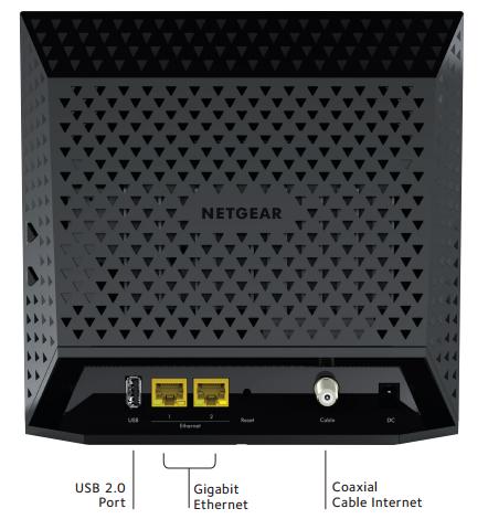 netgear c6250 100nas ac1600 wifi docsis 3 0 cable modem. Black Bedroom Furniture Sets. Home Design Ideas