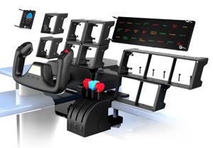 Saitek Pro Flight Simulator Cockpit Shell—The Ideal Hangar for Flight Sim Gear