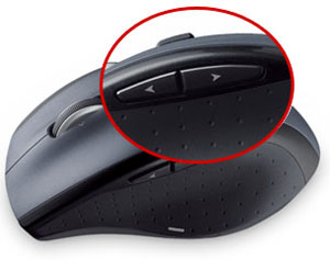 Image result for logitech thumb buttons