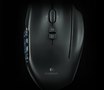 Logitech G600mmo Gaming Mouse Black Newegg Com