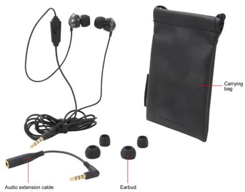 c7d0f91a8fb Sennheiser Black CX 275s Canal Headphone/Headset - Newegg.com