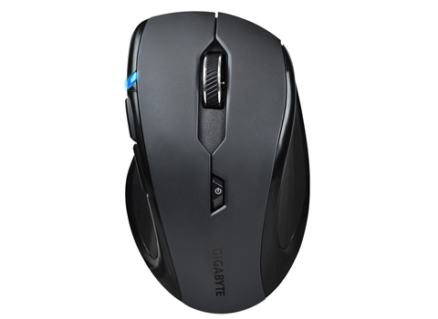 Gigabyte Eco-Friendly Sapphire Blue Optical Mouse