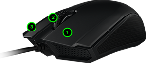 Razer Abyssus - Ambidextrous Gaming Mouse