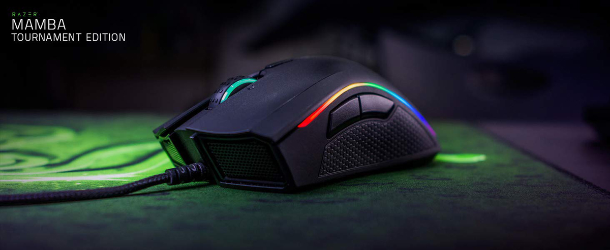 Refurbished: RAZER Mamba Tournament Edition Chroma Gaming Mouse -Certified  Refurbished - Newegg com