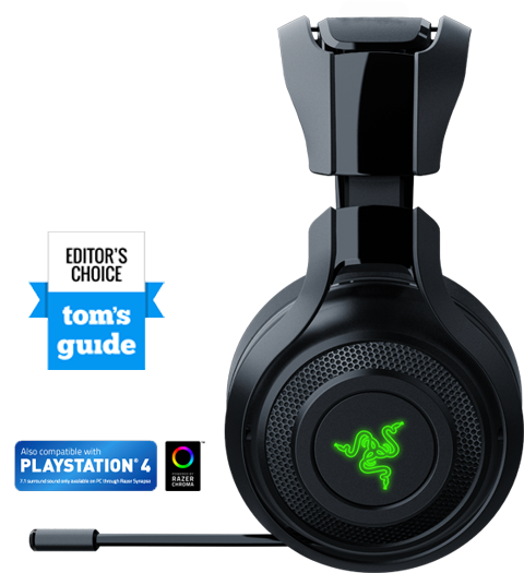 Razer ManO'War - Wireless PC Gaming Headset - Newegg com