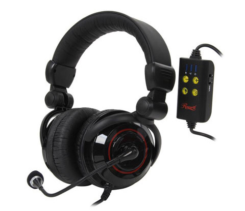 5.1-Channel Vibrating Gaming Headset